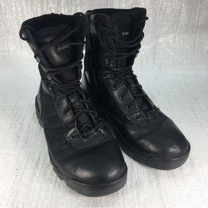 Bates E02261 Tactical Black Leather Combat Boots